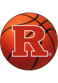 Rutgers 27` Basketball Interior Rug