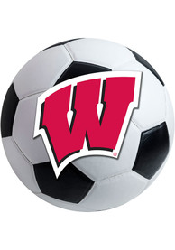 Wisconsin Badgers 27 Inch Soccer Interior Rug