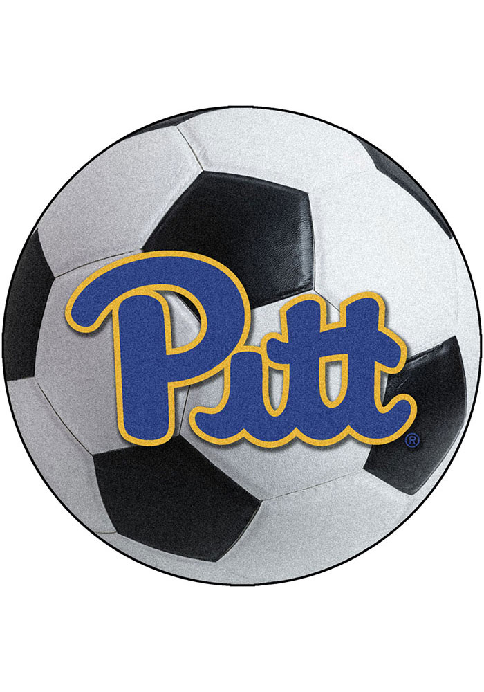Pitt Panthers 27 Inch Soccer Interior Rug - Image 1