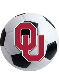 OU Sooners 27 Inch Soccer Interior Rug