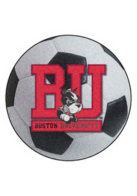 BU Terriers 27 Inch Soccer Interior Rug
