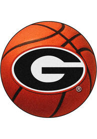 Georgia Bulldogs 27` Basketball Interior Rug