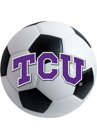 TCU Horned Frogs 27 Inch Soccer Interior Rug