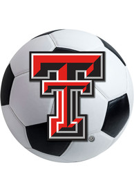 TTech Red Raiders 27 Inch Soccer Interior Rug