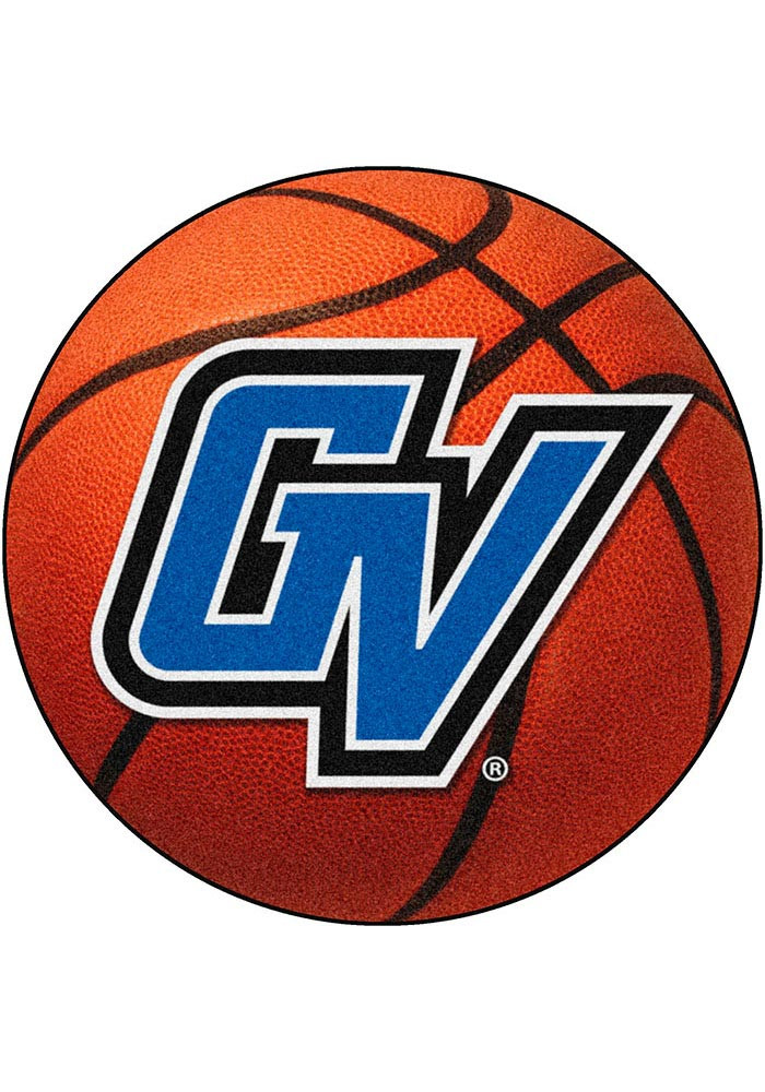 Grand Valley State 27` Basketball Interior Rug - Image 1