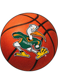 Miami RedHawks 27` Basketball Interior Rug