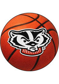 Wisconsin Badgers 27` Basketball Interior Rug