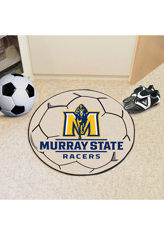 Murray State Racers 27 Inch Soccer Interior Rug - Image 1