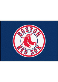 Boston Red Sox 34x45 All Star Interior Rug