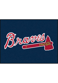 Atlanta Braves 34x45 All Star Interior Rug