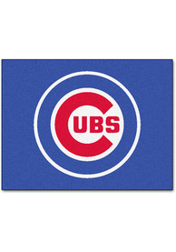 Chicago Cubs 34x45 All Star Interior Rug