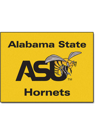 Alabama State Hornets 34x45 All Star Interior Rug