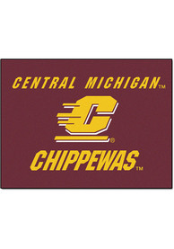 Central Michigan Chippewas 34x45 All Star Interior Rug
