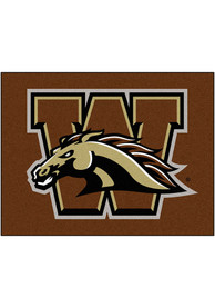 WMU Broncos 34x45 All Star Interior Rug