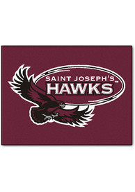 Saint Joseph Hawks 34x45 All Star Interior Rug