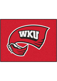 WKU Hilltoppers 34x45 All Star Interior Rug