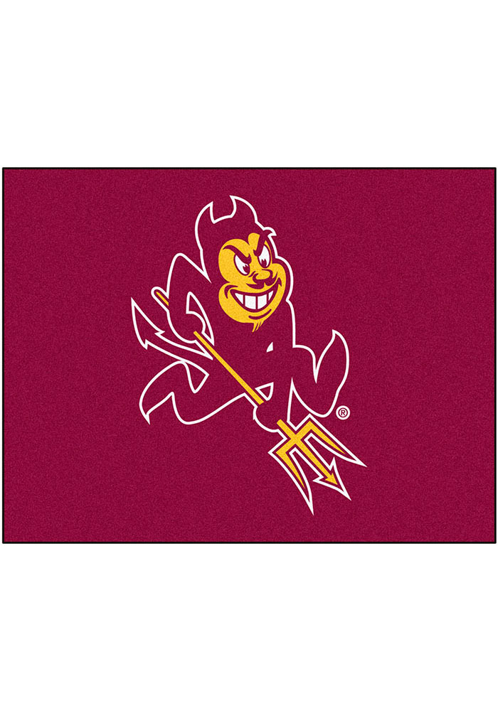 Arizona State Sun Devils 34x45 All Star Interior Rug - Image 1