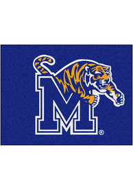 Memphis Tigers 34x45 All Star Interior Rug
