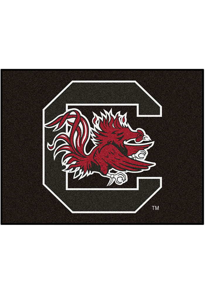 South Carolina Gamecocks 34x45 All Star Interior Rug - Image 1