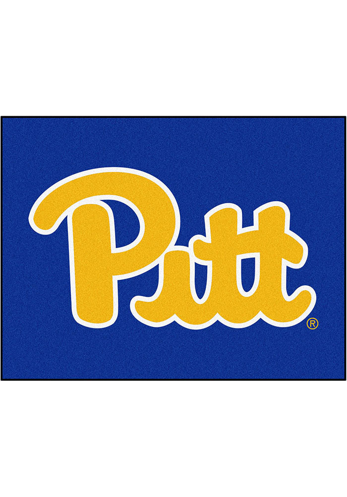 Pitt Panthers 34x45 All Star Interior Rug - Image 1