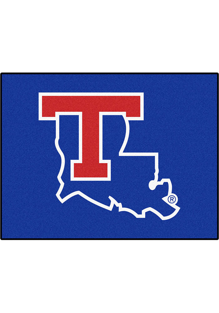 Louisiana Tech Bulldogs 34x45 All Star Interior Rug - Image 1