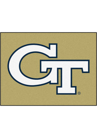 GT Yellow Jackets 34x45 All Star Interior Rug