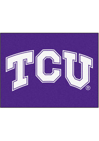 TCU Horned Frogs 34x45 All Star Interior Rug