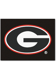Georgia Bulldogs 34x45 All Star Interior Rug