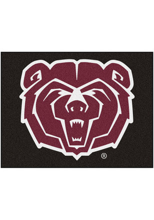 Shop Msu Bears Fan Cave Rugs Mo State Bears Interior Rugs Bears