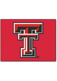 TTech Red Raiders 34x45 All Star Interior Rug