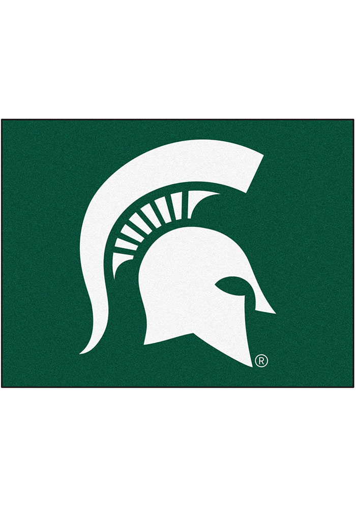 Michigan State Spartans 34x45 All Star Interior Rug - Image 1
