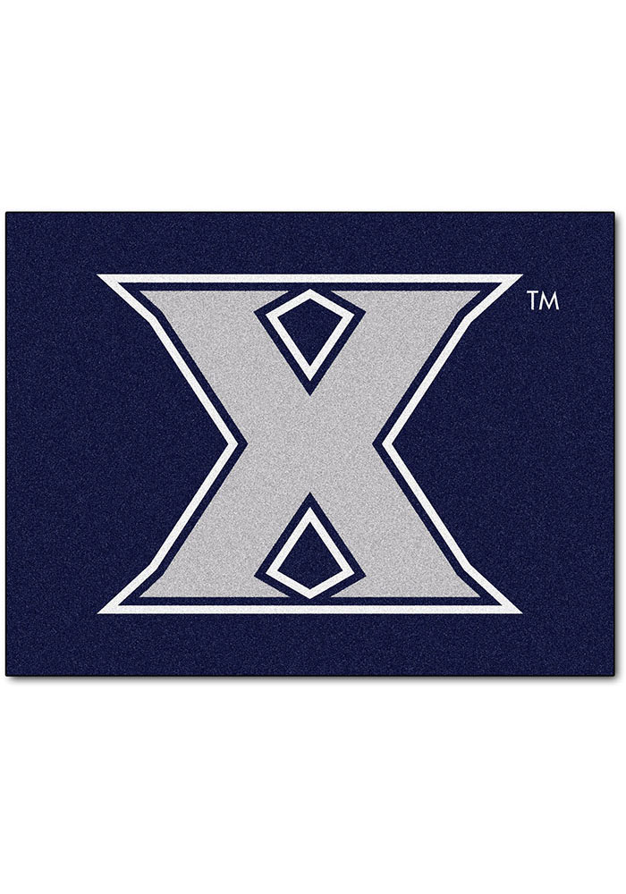 Xavier Musketeers 34x45 All Star Interior Rug - Image 1