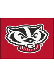 Wisconsin Badgers 34x45 All Star Interior Rug