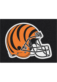 Cincinnati Bengals 34x45 All-Star Interior Rug