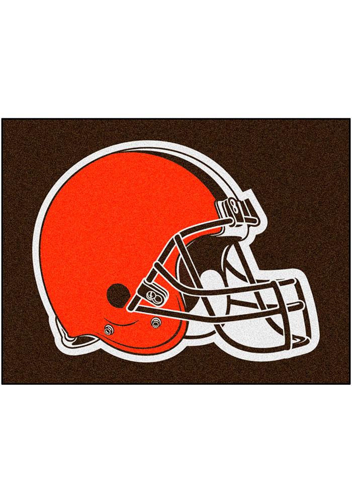 Cleveland Browns 34x45 All-Star Interior Rug - Image 1