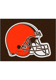 Cleveland Browns 34x45 All-Star Interior Rug