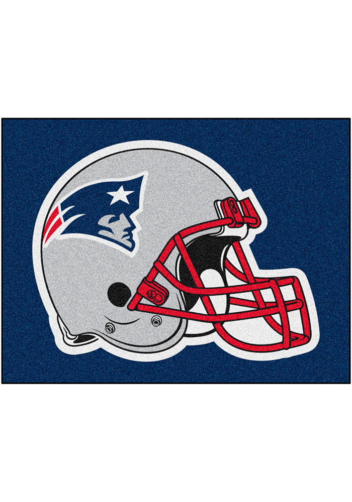 New England Patriots 34x45 All-Star Interior Rug - Image 1