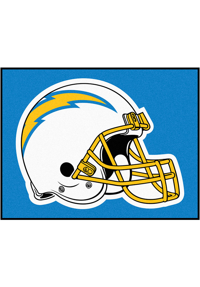 Los Angeles Chargers 34x45 All-Star Interior Rug - Image 1