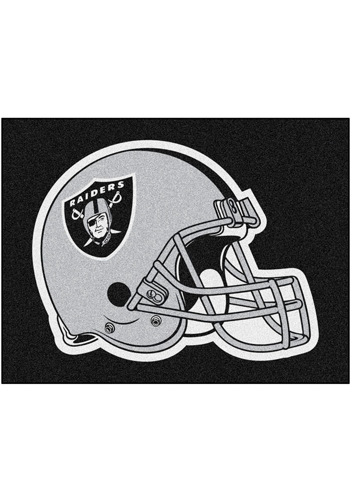 Oakland Raiders 34x45 All-Star Interior Rug - Image 1
