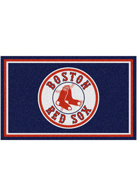 Boston Red Sox 4x6 Interior Rug