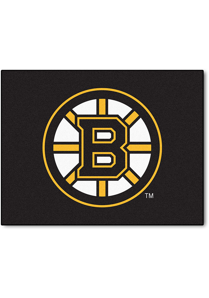 Boston Bruins 34x45 All-Star Interior Rug - Image 1