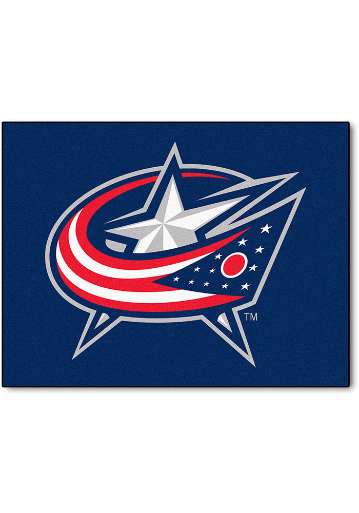 Columbus Blue Jackets 34x45 All-Star Interior Rug - Image 1