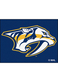 Nashville Preds 34x45 All-Star Interior Rug