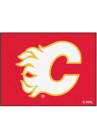 Calgary Flames 34x45 All-Star Interior Rug