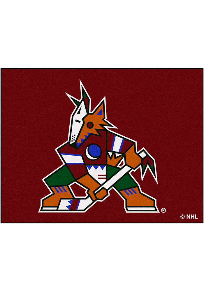 Arizona Coyotes 34x45 All-Star Interior Rug - Image 1