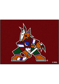 Arizona Coyotes 34x45 All-Star Interior Rug