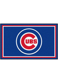 Chicago Cubs 4x6 Interior Rug