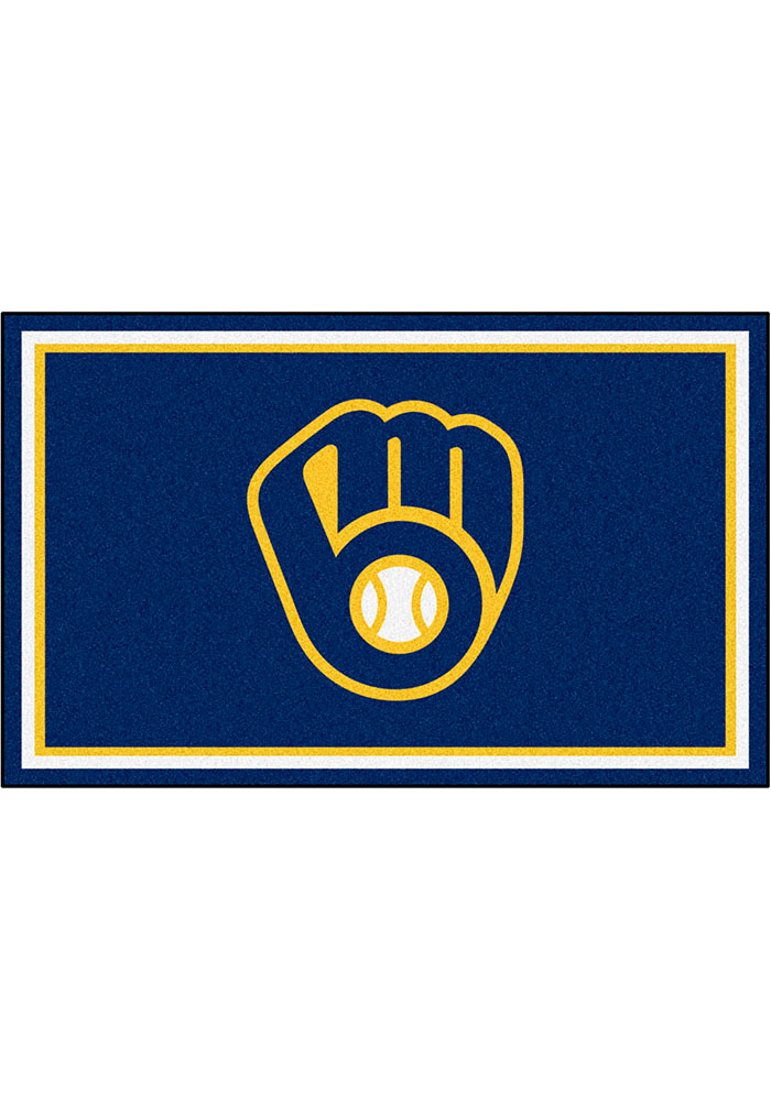 Milwaukee Brewers 4x6 Interior Rug - Image 1