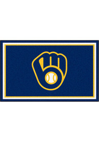 Milwaukee Brewers 4x6 Interior Rug