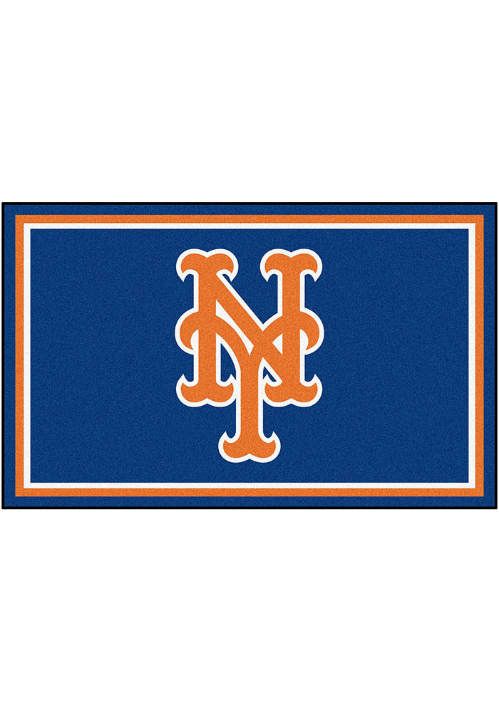 New York Mets 4x6 Interior Rug - Image 1
